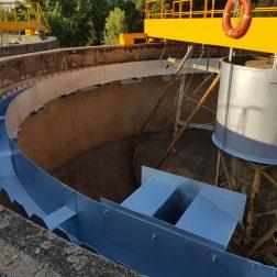 CANAL DECANTADOR RECUPERADO CON STM