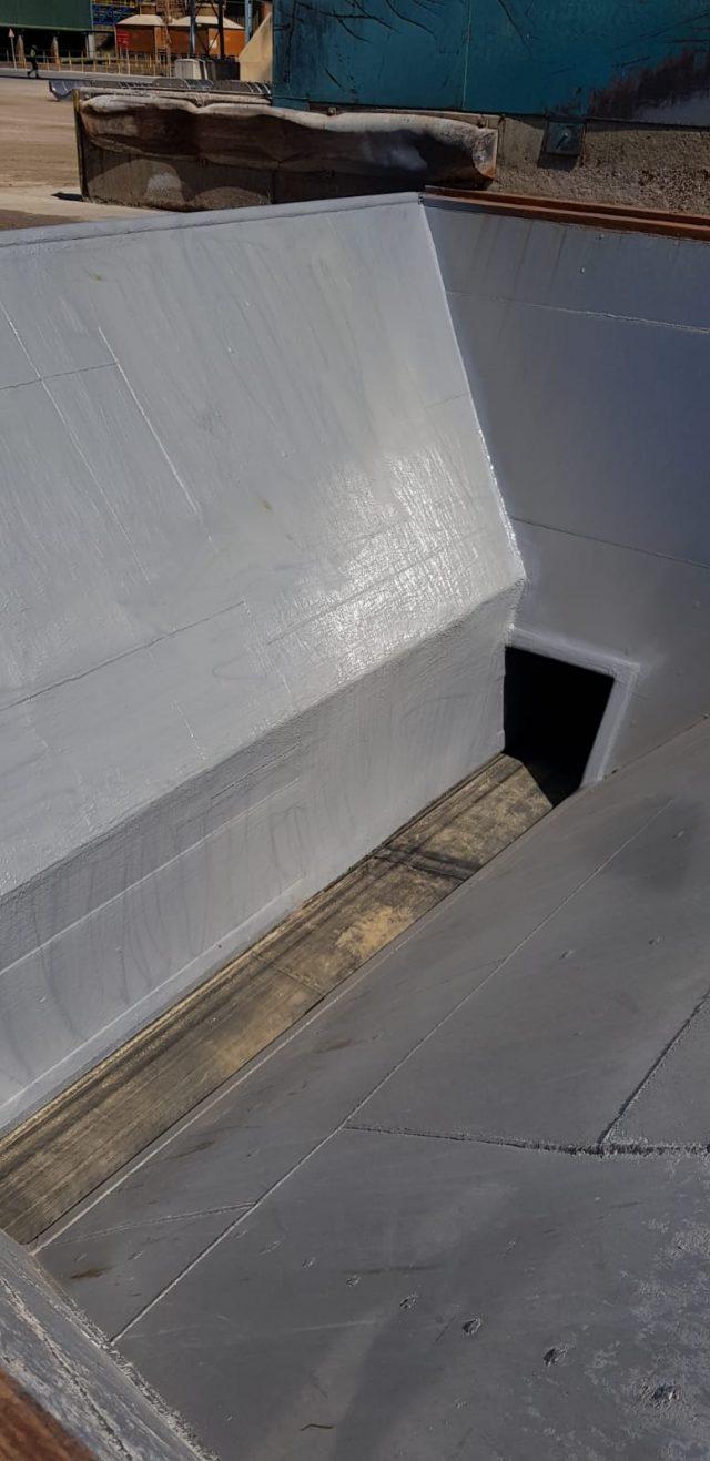 Finalización de los trabajos en la Tolva y el túnel