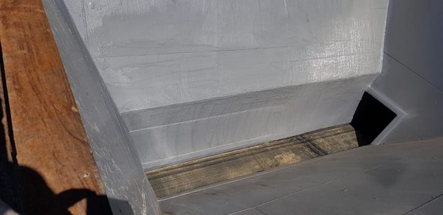 Tras la fabricación de la nueva pared y el túnel con STM