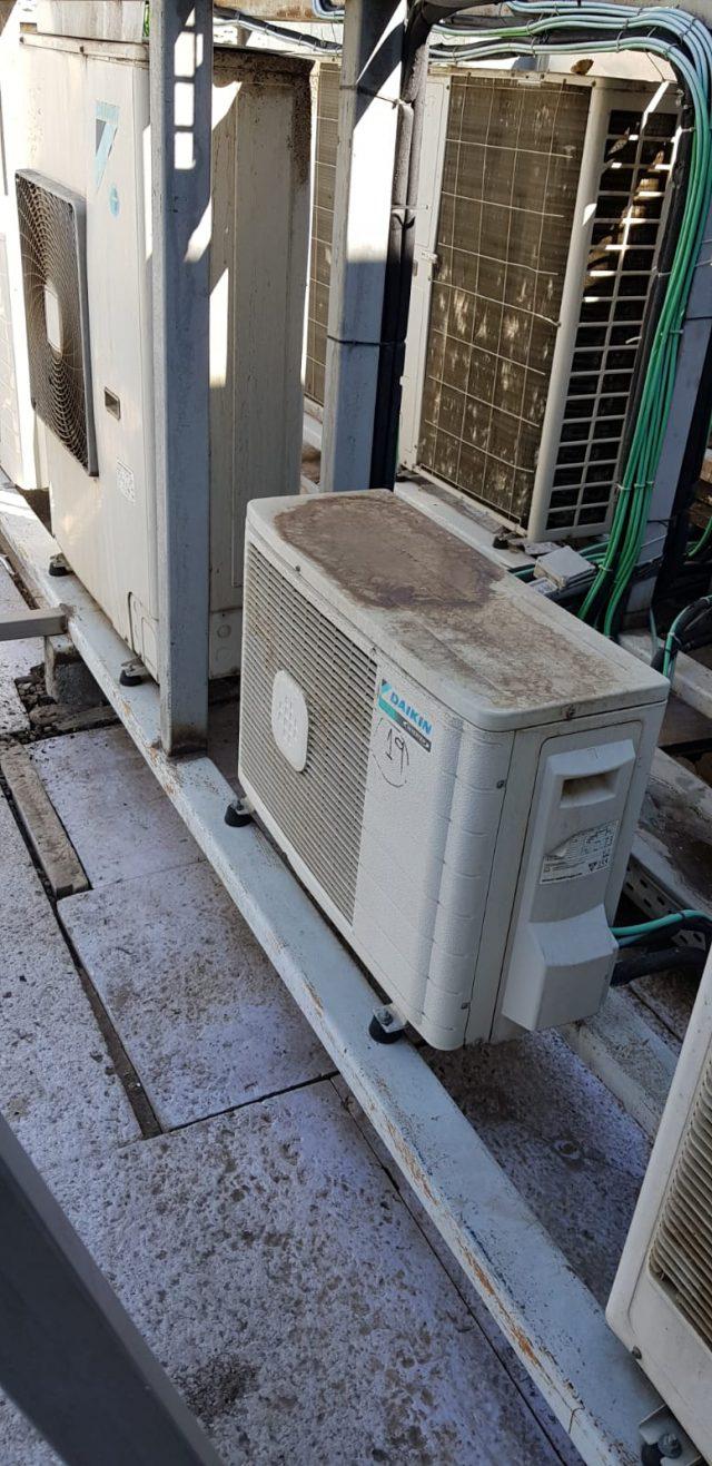 Maquinaria de Climatización sobre Cubierta
